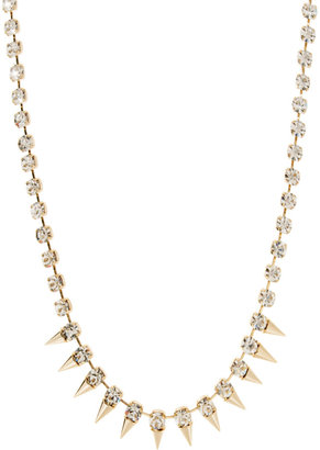 Love Rocks Spike And Crystal Necklace