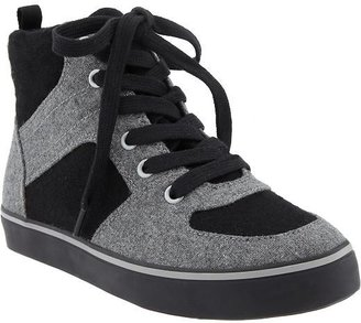 Old Navy Boys Color-Blocked Wool High-Tops