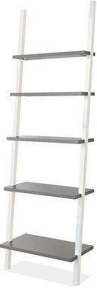 Room & Board Gallery Leaning Shelves in White