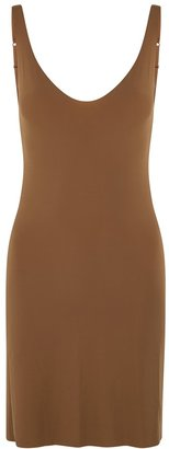 Wolford Pure Brown Seamless-finish Slip