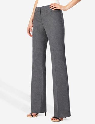 The Limited Lexie Tab-Waist J-Pocket Classic Flare Pants