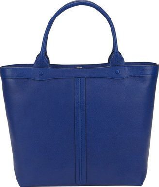 Valextra Punch Tote-Blue