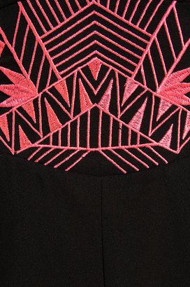 6 Shore Road Fortress Embroidered Jumper