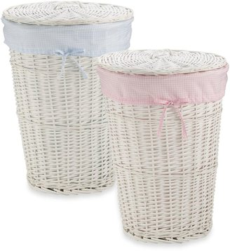 Redmon Collection Round Willow Hampers & Liners