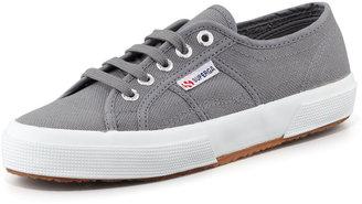 Superga Cotu Flat Canvas Sneaker, Gray