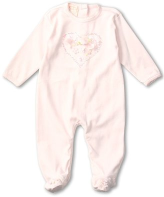 Biscotti Be Mine Long Sleeved Footie (Infant) (Pink) - Apparel