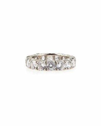 FANTASIA 4.25mm Cubic Zirconia Eternity Band Ring