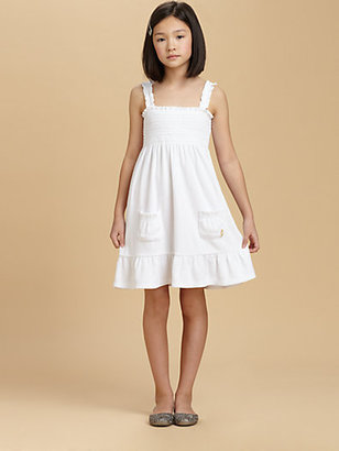 Juicy Couture Girl's Smocked Terry Tank Dress