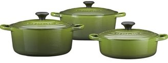 Le Creuset Round Spinach French Oven with Lid. 7.25 qt.