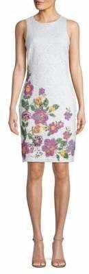 Lori Michaels Sleeveless Printed Sheath Dress