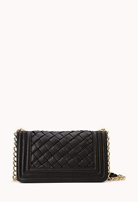 Forever 21 Iconic Faux Leather Crossbody