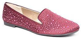 "Adrienne Vittadini Mahogany"" Dress Flats with Scattered Gemstones"