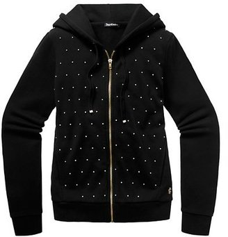 Juicy Couture Original Jacket in Rhinestone French Terry
