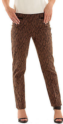 Olsen EUROPE Jacquard Lisa Crop Pants