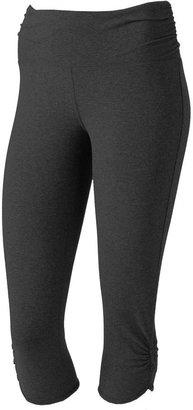 Tek gear ® yoga capri leggings - women's plus