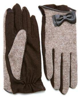 Lauren Ralph Lauren Tweed Style Gloves
