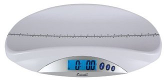 Escali BT20 Baby Toddler Scale, Silver
