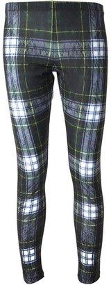 McQ by Alexander McQueen plaid leggings