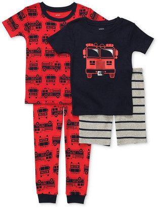 Carter's Kids Pajamas, Toddler Boys 4-Piece Pajama Set