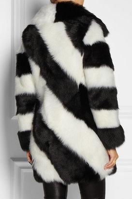 Joseph Betty striped shearling coat