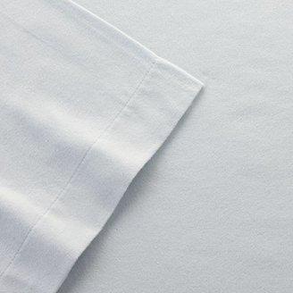 Laura Ashley solid flannel sheet set - full
