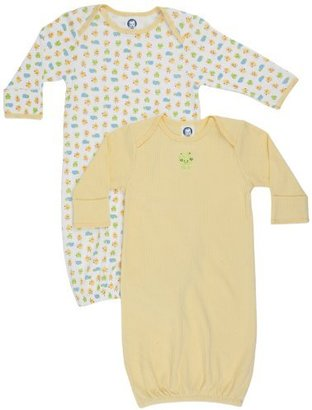 Gerber Unisex-Baby Frogs And Ducks 2 Pack Lap Shoulder Gown
