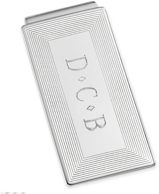 Asstd National Brand Personalized Rhodium-Plated Money Clip