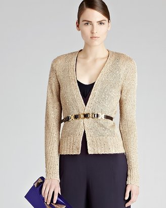 Reiss Cardigan - Star Sequin