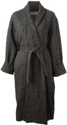 Christophe Lemaire belted coat