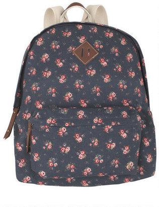 Madden-Girl Navy Floral Backpack