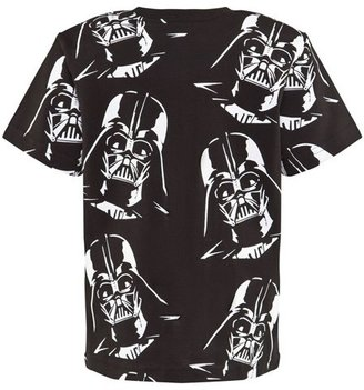 Fabric Flavours Black And White Darth Vader Tee
