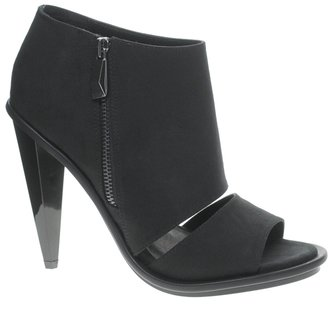 KG by Kurt Geiger Closed Cut Out Peep Toe Bootie Sandals