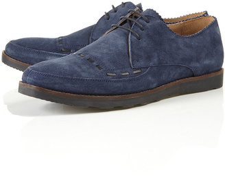 Topman House of Hounds Ted Suede Lace Up Shoes
