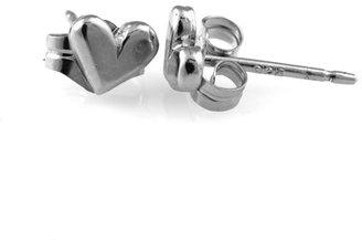 Tracy Matthews Sterling Silver Heart Studs