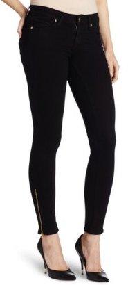 Paige Women's Verdugo Ankle Zip Jean in Black Ink