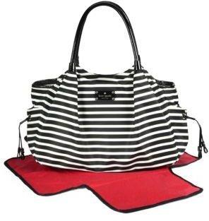 Kate Spade Striped Stevie Baby Bag