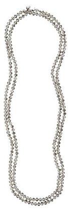 LOFT Extra Long Crystal Necklace
