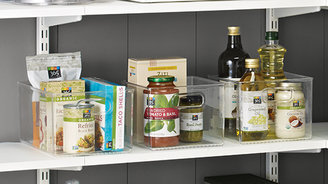 Container Store Small LinusTM Spice Rack Clear