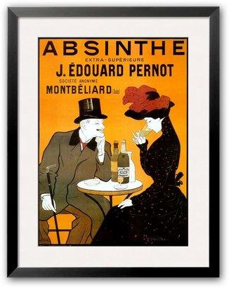 "Art.com Absinthe Berthelot"" Framed Art Print by Leonetto Cappiello"
