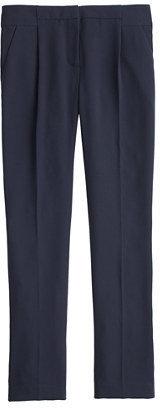 J.Crew Tall pleated crepe pant