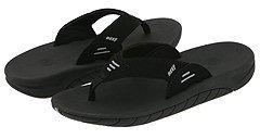 Reef Slap (Infant/Toddler/Little Kid/Big Kid) (Black/Black) - Footwear