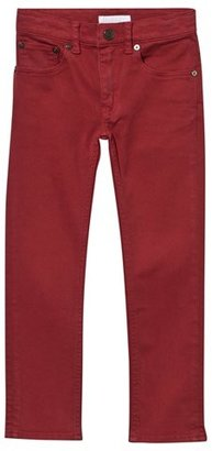Burberry Red Skinny Jeans