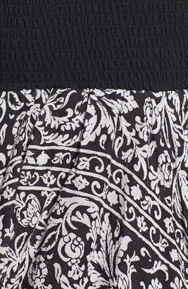 Billabong 'Good Love' Handkerchief Hem Bandeau Dress (Juniors)