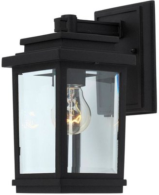 Filament Design Moravia 1-Light Black Outdoor Sconce