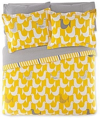 Jonathan Adler Birds Complete Bedding Set with Sheets