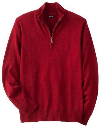 Apt. 9 merino 1/4-zip sweater