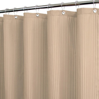 "B. Smith Park Satin Stripe Linen 72"" x 72"" WaterShed® Shower Curtain"