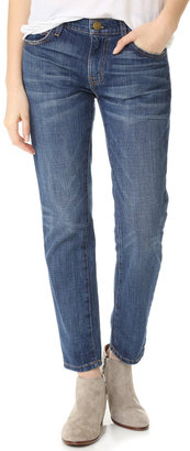 Current/Elliott The Fling Jeans $208 thestylecure.com