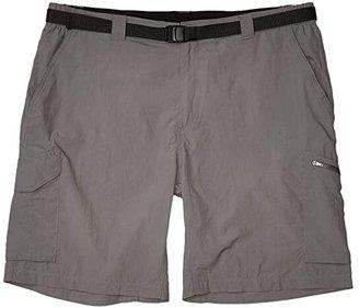 Columbia Big Tall Silver Ridge Cargo Short (42-54) (City Grey) Men's Shorts