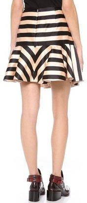 Jill Stuart Nikki Striped Skirt